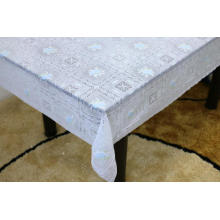 Vinyl Printed lace tablecloth by roll