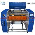 Machine de rebobinage de ligne pointillée de film d'emballage de haute qualité