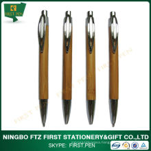 Click Eco-Friendly Bamboo Ball Pen