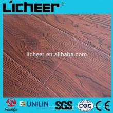 Piso de madeira imitado indoor / fácil click laminado pavimentação