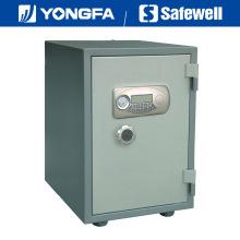 Caja fuerte electrónica ignífuga del panel de Ale de Yongfa los 52cm con la perilla
