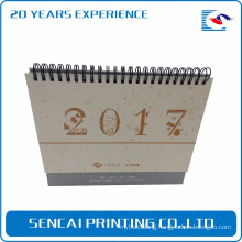 New design paper box style calendar custom made Monthly desk calendar for promotion