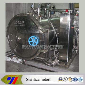 Sterilisator für Schinkenwurst (Autoklaven-Sterilisator-Retorte)