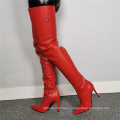 2021 Simple fashion sculpting over-the-knee women's boots