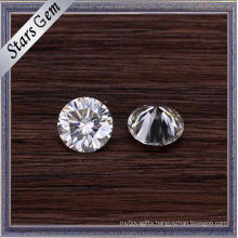 Excellent Brillinat Cut Well Polished Clear White Loose Moissanite Stones for Fashion Jewelry