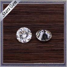 Excelente Brillinat Cut bem polido claro branco solto Moissanite pedras para moda jóias