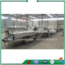 Vegetal ultracongelado planta de transformação / linha de processamento