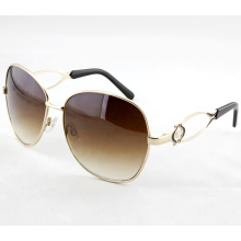 Fashion Elegant Metal High Quality Sunglasses for Women (14263)