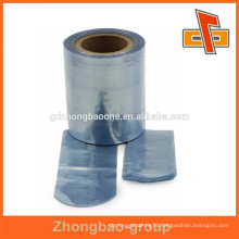 heat sealer PVC package material hot blue print film with different kinds of cutting types