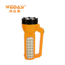 Reusable rechargeable hand led brand best torch light with side lignts