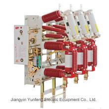 Commutateur de mise sous tension d'intérieur de commutateur de mise à la terre de commutateur de mise à la terre de 24kv-Yfzn-24D