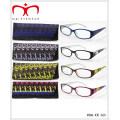 Унисекс очки для чтения с чехлом, имеющимся в упаковке дисплея (MRP21675)