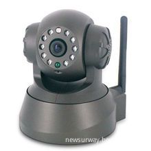 IP Camera with Real-time Video Capture, Supports PIR/Smoke/Gas Detection