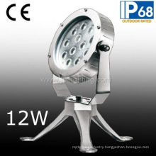 12W High Power Waterproof LED Spot Light for Underwater (JP-951121)