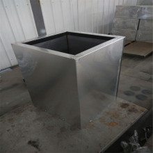 Tall Square Stainless Steel Pots