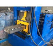 80-300 anchura C canal rodillo que forma la máquina para la construcción