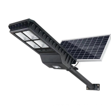 Farola solar de paneles solares dobles de 55W 52000MAH