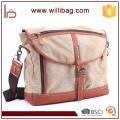 Cross Strap Canvas Messenger Bag Men Custom Messenger Bag