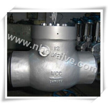 """Class 300lb 12"""" Butted Weld Wcb/304 Check Valve"""