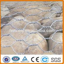 cesta de gaviones de piedra / muros de contención de gaviones / instalación de cesta de gaviones
