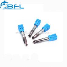 BFL 3 Flöte Bohrer für Kupfer, Hartmetallbohrer für gehärteten Stahl
