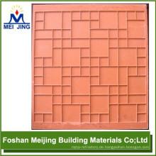 Formen für Pflastersteine für Glasmosaik, das Rohmaterial bildet