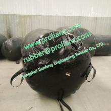 Airbag de borracha inflável (usado para testar a água fechada)