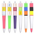 Cubic Tube Promotional Plastic Ball Pen