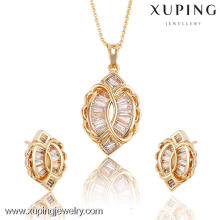 62299 / 63638Xuping Fashion Woman Jewlery avec plaqué or 18 carats