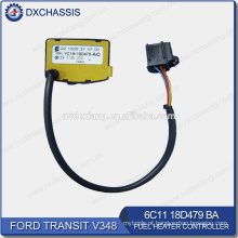 Trânsito genuíno V348 controlador de aquecedor de combustível 6C11 18D479BA