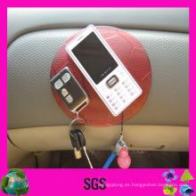 Almohadilla antideslizante del cojín antideslizante del teléfono celular del superventas Almohadillas de goma pegajosas de la PU