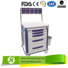 Удовлетворение FDA Durable Durable Anesthetic Cart