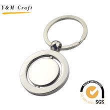 Corrente chave do couro do metal do par do presente de casamento