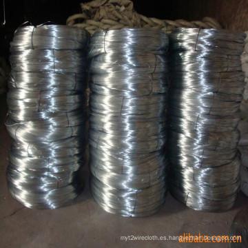 Cable de hierro galvanizado / Alambre de unión / Alambre encuadernador ensamblados fácilmente