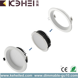 Exterior 6 Inch White LED Downlights Adjustable