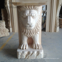 wood lion capitals animal wood corbel woman carved wood carving lion column