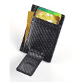 Carbon fiber money clip holder