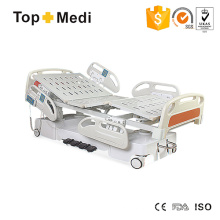 Topmedi Hospital 7 Function Central Locking Electric Hospital Bed