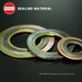 China Supply High Quality Spiral Wound Gasket Ss304 Basic Type with Inner CS and Outer Rings CS