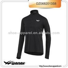 Langärmelige Laufbekleidung für athletische Männer oeko-tex
