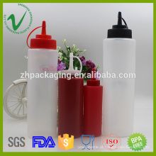 Boca larga espremer garrafas vazias para óleos 300ml grau alimentar