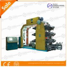 Máquinas de impressão de tipografia de filme HDPE Flexo 8 cores