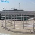 Panneaux galvanisés par usine de barrière de cheval de bétail de tuyau en métal