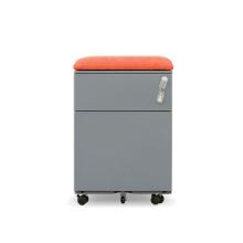 Steel Cabinet OEM Metal 2 Drawer Mobile File Cabinet