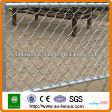 Zinc coated Chain Link Weaving Fencing On sale
