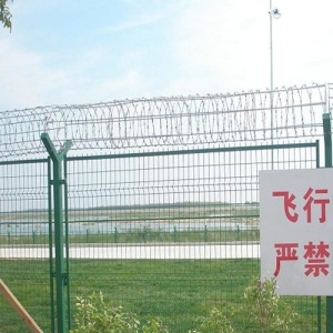 High Quality Plastic Products Airport Security Fence