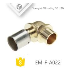 ЭМ-Ф-A022 быстрый Разъем латунь локоть трубы штуцер для водяного шланга