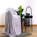 Home Textiles Baby Lazy Wave Throw Flannel Blanket