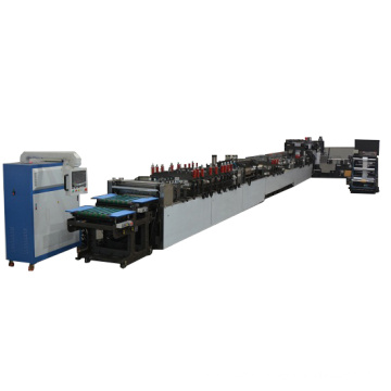 Flat bottom bag making machine