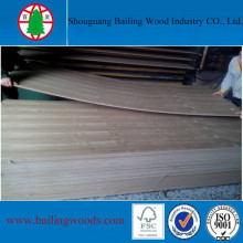 18mm Teak Veneer MDF for Furniture